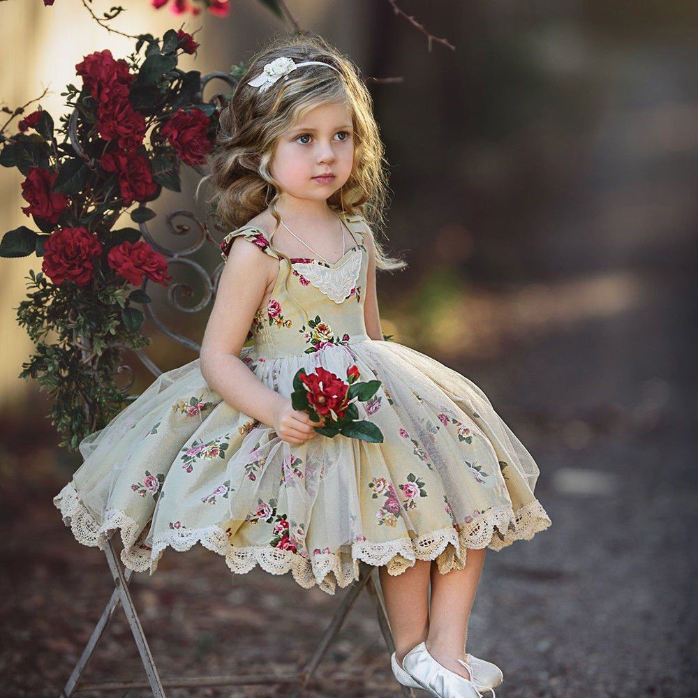 Цветочные наряды для принцесс