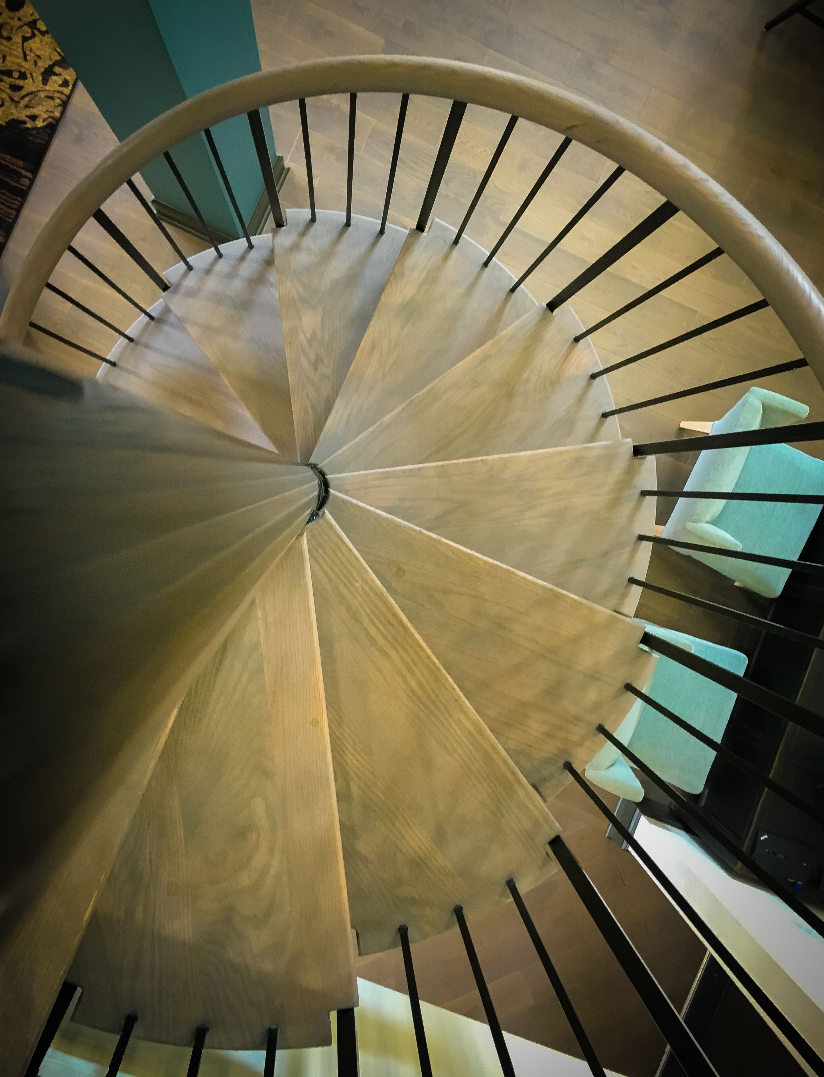 Best Commercial Spiral Staircase Modern Design 400 x 300