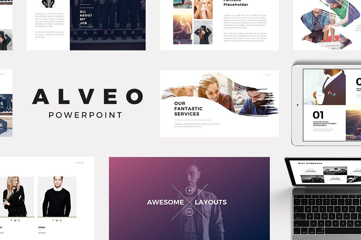 Minimal powerpoint templates bundle by slidedizer on creativemarket minimal powerpoint templates bundle by slidedizer on creativemarket toneelgroepblik Choice Image