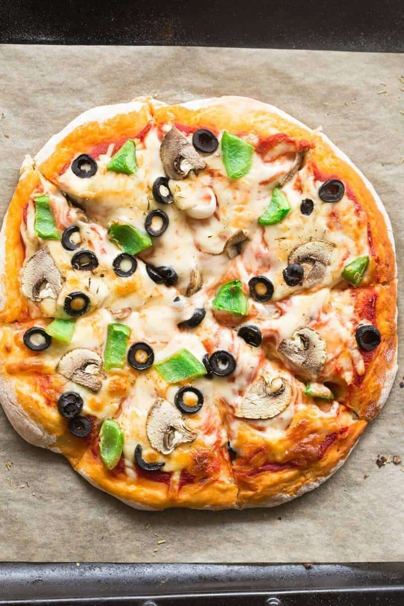 2 ingredient dough pizza crusts no yeast recipe in