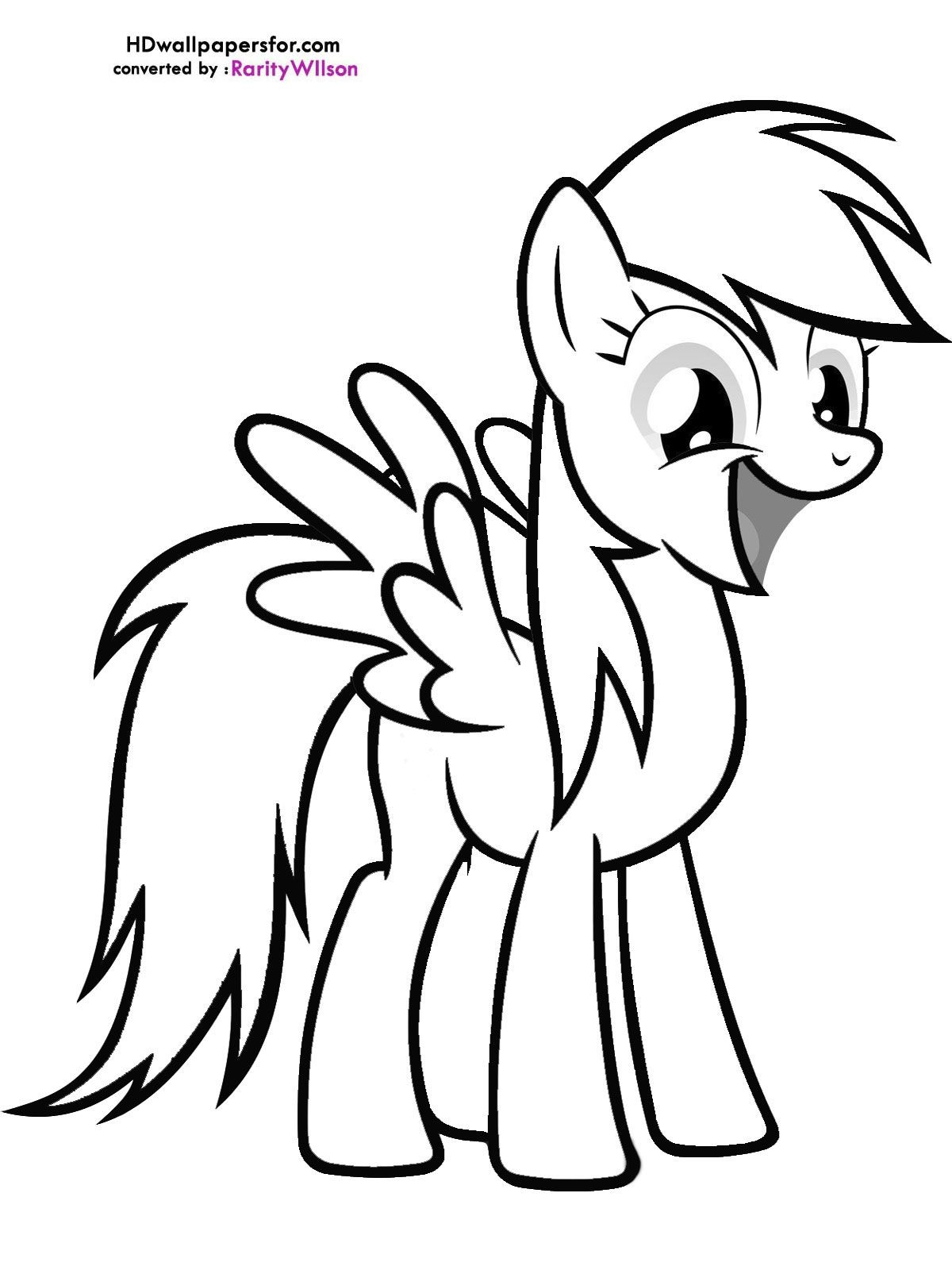 My Little Pony Derpy Coloring Pages Coloring Pages My Little