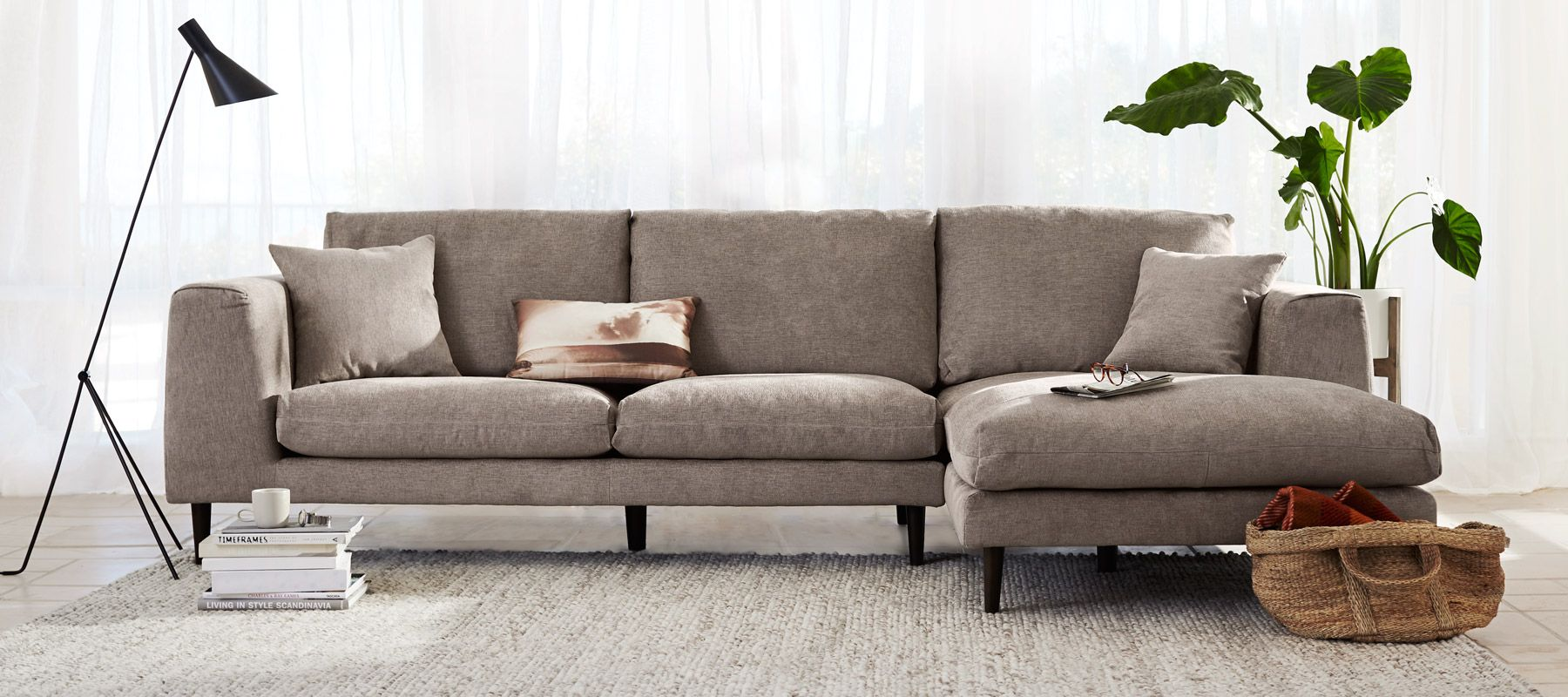 Sectionals - gorgeous! Scandinavian Designs : sectionals for condos - Sectionals, Sofas & Couches