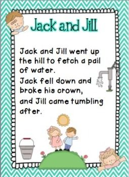 Nursery Rhymes Activities Packet 2
