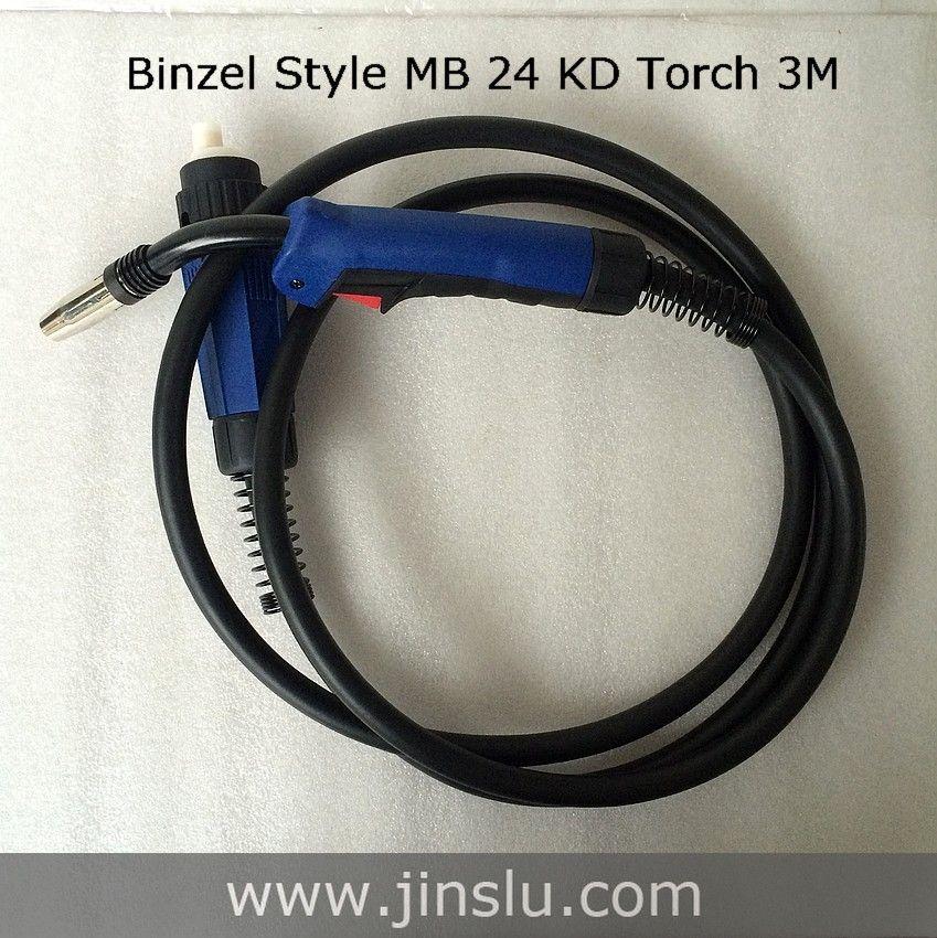 MB 24KD MIG Welding Torch 250A MIG MAG Torch Welding Gun 3M Euro Connector