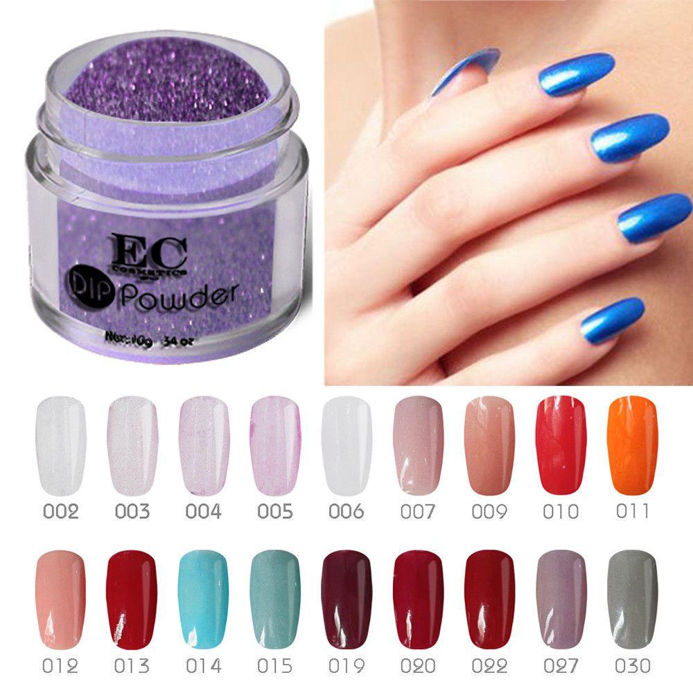 Gel Polish Dipping Colored Acrylic Nail Powder System Manicure Kit Varnish Gelike