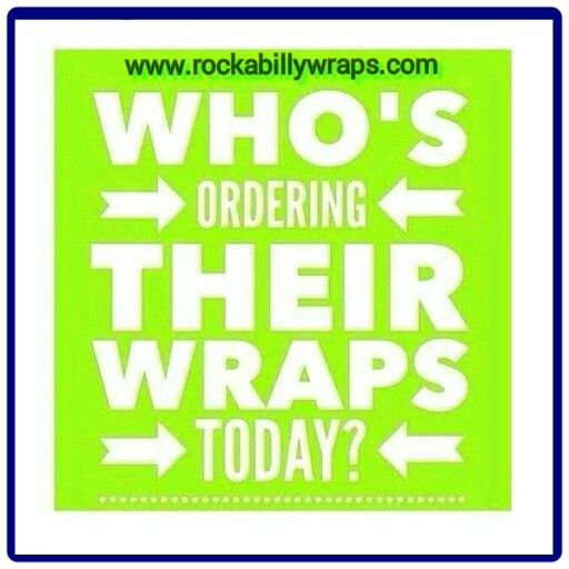 It's #friday #payday, who's ordering their wraps today?  ☆☆☆☆☆☆☆☆  .The wrap is worn for a minimum of 45 minutes but continues to process for 72 hours after it is removed, during which time you will drink 8+ glasses of water to aide it in working (hence your results are NOT just water loss). . Loyal Customer Pricing: 4/$59……Retail Pricing: 4/$99 Order Today:  www.rockabillywraps.com  Questions? Text Me:  262.573.3609 Join my Facebook Group to receive Info & Specials…
