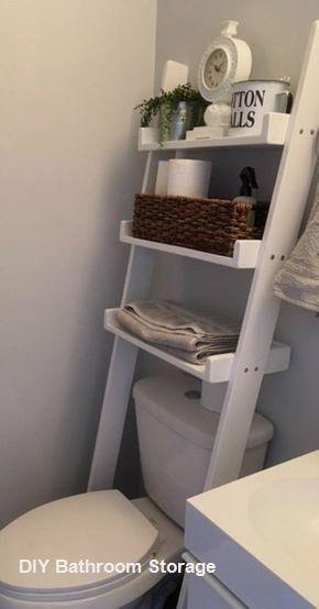 Photo of New DIY Bathroom Storage Ideas