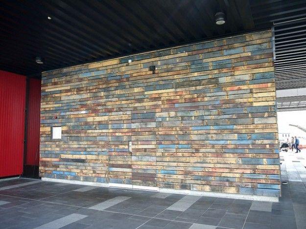Church foyer ideas riciclo creativo bancali di legno for Riciclo bancali legno