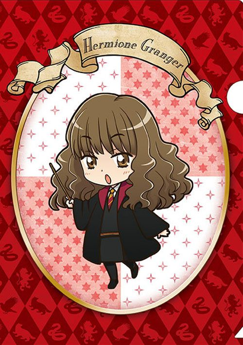 Official Anime Style Harry Potter Merchandise Hermione Granger