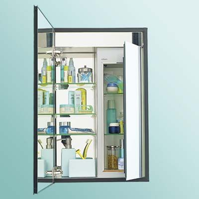 Robern Medicine Cabinets Key Feature A Refrigerated Compartment In This Robern Cabinet Holds Temperature Sensitiv Bathroom Medicine Cabinet Concealed Hinges