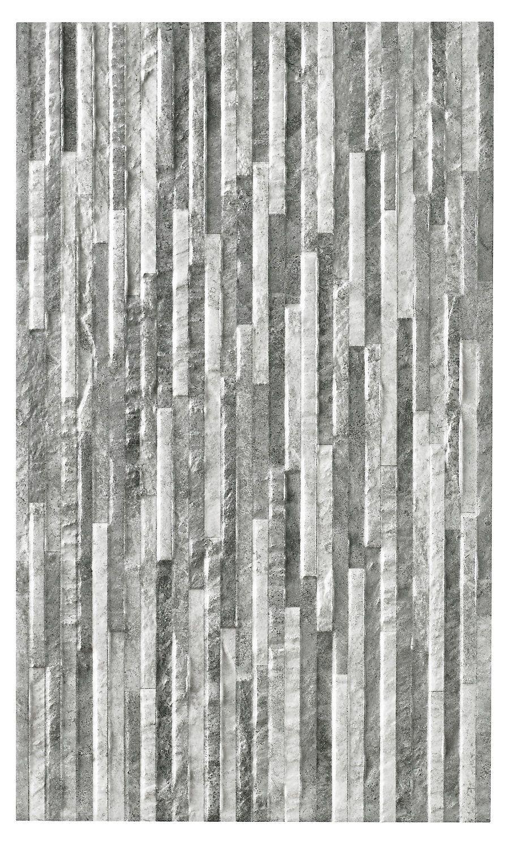 Oscano Pebble Graphite Stone Effect Mini Split Face Ceramic Wall Tile Pack Of 6 L 498mm W 298mm 壁紙 おしゃれ シンプル 建材 壁紙