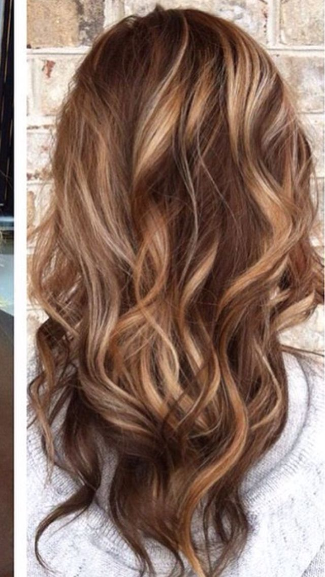 Beautiful fall balayage \u2026