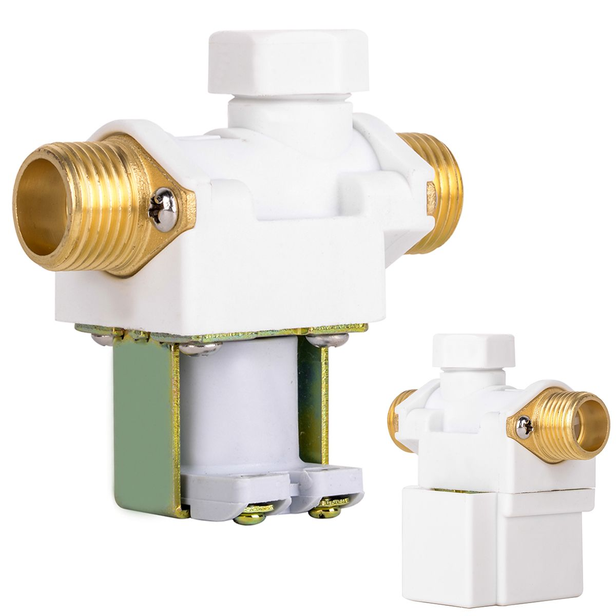 1pc Wear Resistant 1 2 Electric Solenoid Valve Ac 220v Water Air N C Normally Closed Operation Mayitr Durable Diaphragm Val Valve Electricity Sprinkler System