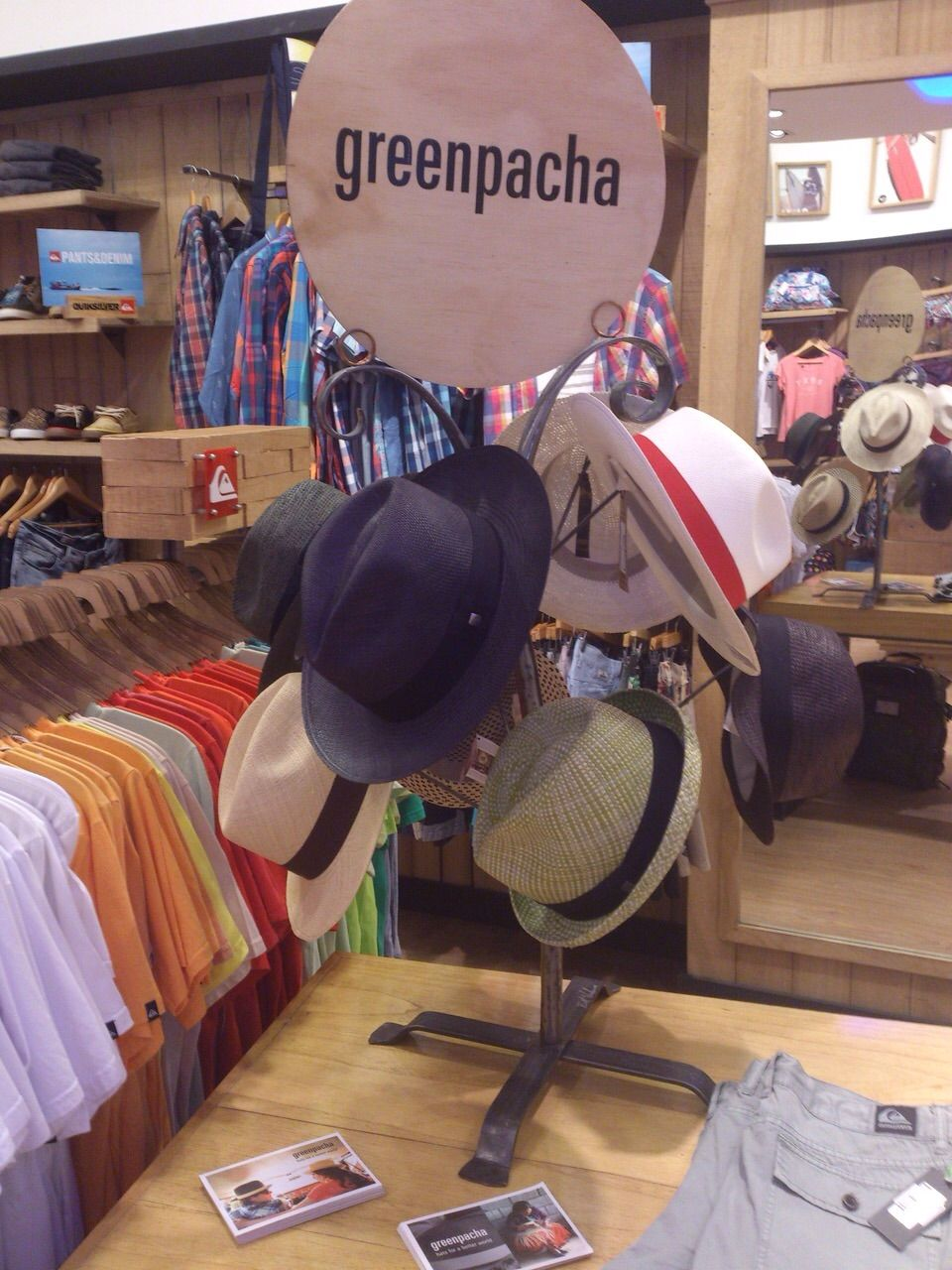 ‪#‎Greenpacha‬ ‪#‎argentina‬ ‪#‎summer‬ ‪#‎ecoline‬ #2015 Stores: quiksilver- Roxy - DC  Buenos Aires - Mar del Plata