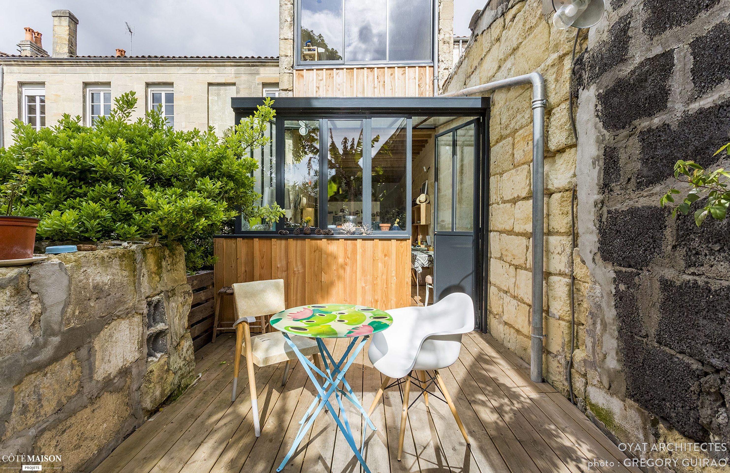 Rénovation et extension d\'une maison individuelle, Bordeaux, OYAT ...