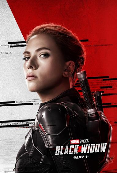 Character Posters for Marvel Studios Black Widow Are Here