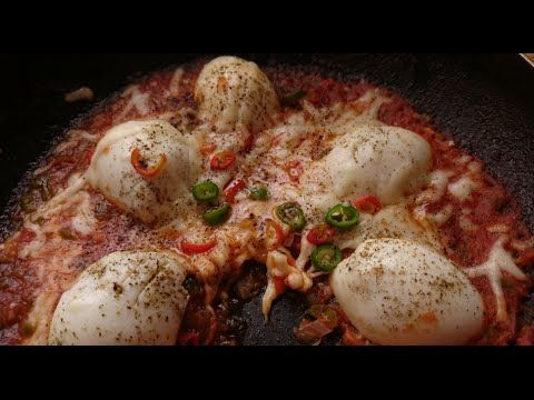 فطور صباحي بيض مسلوق بالجبن بطريقه جدا لذيذ من قناة المورزليرا Food Breakfast Islamic World
