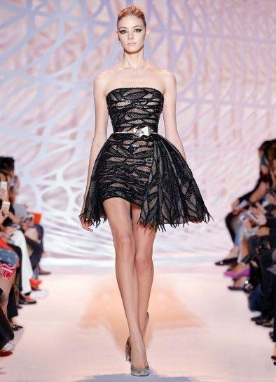 Minidress da cocktail Zuhair Murad Haute Couture