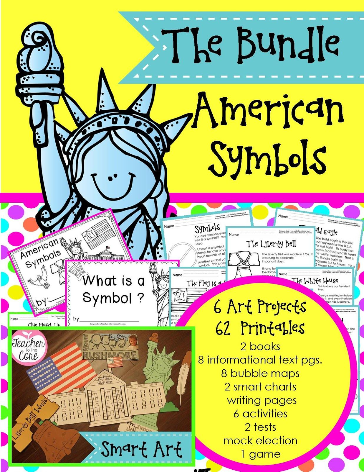 American Symbols Unit Everything You Need To Teach About