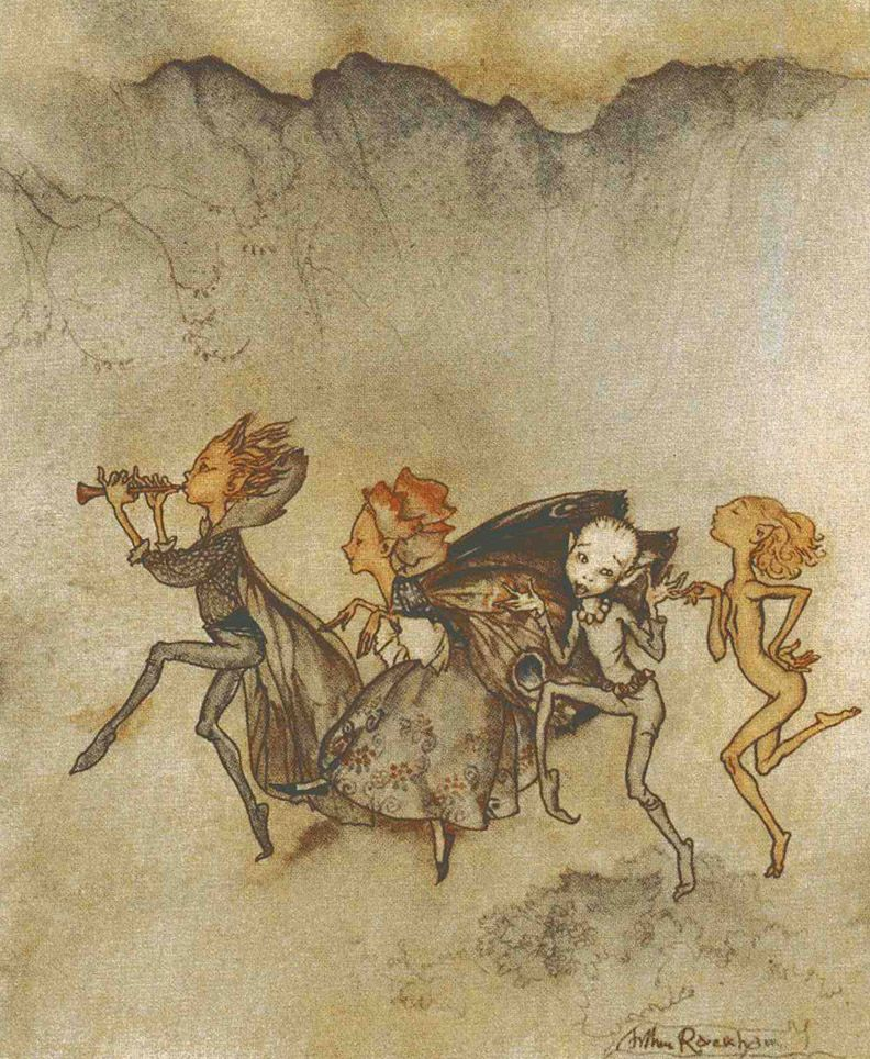 The Art of Children's Picture Books: The Tempest, Illustrated by Arthur Rackham