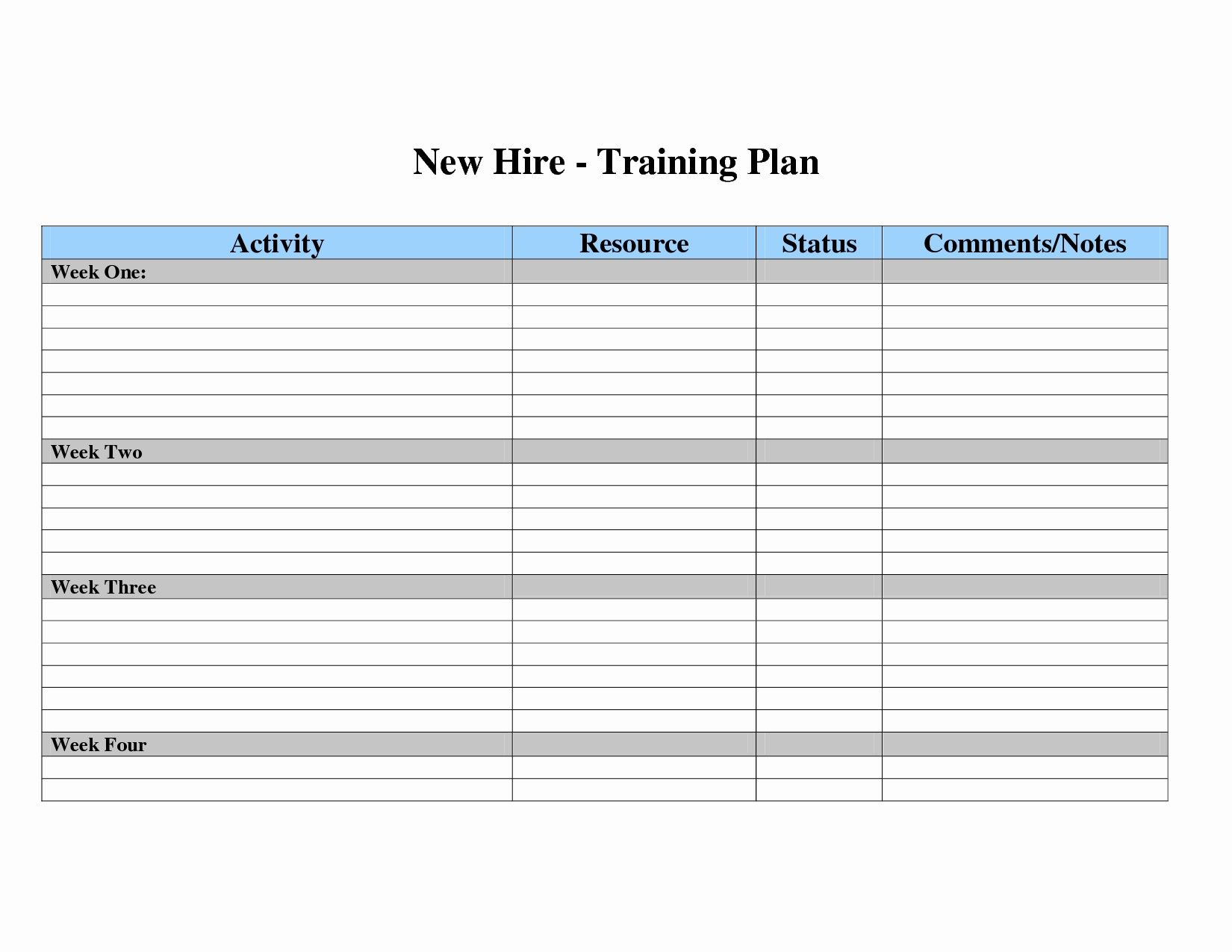 free employee training matrix template excel new employee training