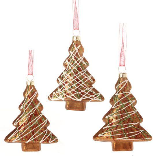 RAZ Chocolate Moose 4 inch Antiqued Tree Ornament set 3 Chocolate - moose christmas decorations
