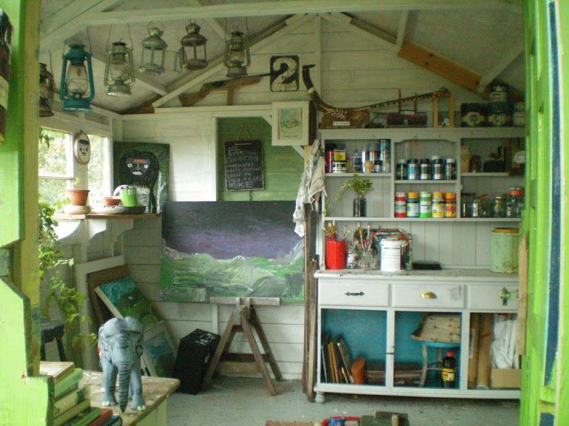 Garden Shed Art Studio Studio Shed Studio Interior Shed Homes