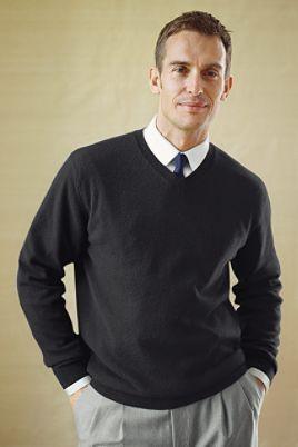 Business Casual Another Good Shirttiesweater Combination Men