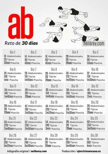 Reto de los 30 días #Abs #Reto30Días