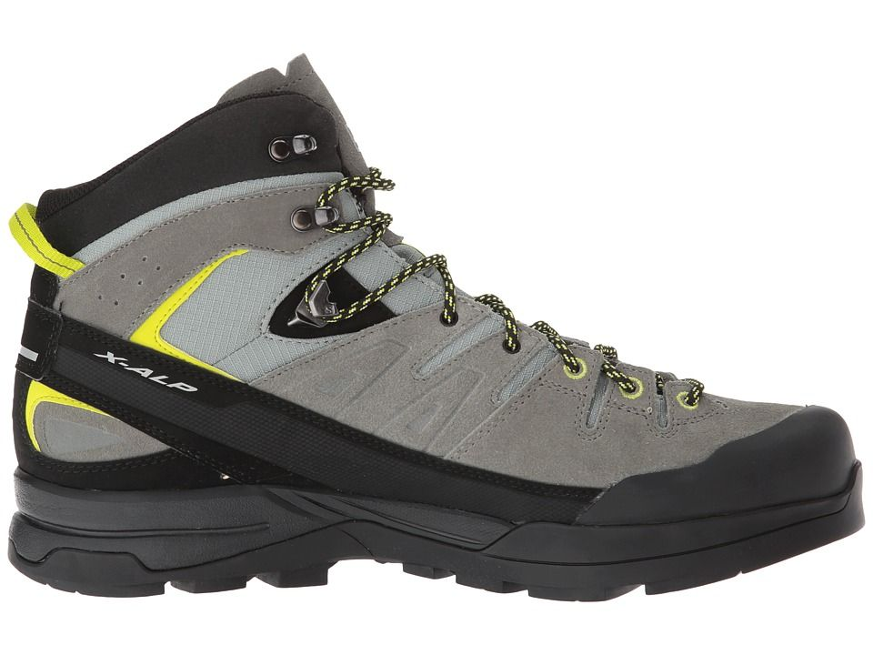 eb04ecccc41 Salomon X Alp Mid LTR GTX Men's Shoes Shadow/Castor Gray/Lime Punch ...