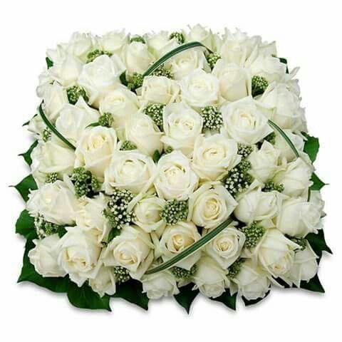 Epingle Par Nena Chavez Sur Nugred White Fleurs Deuil Fleurs De