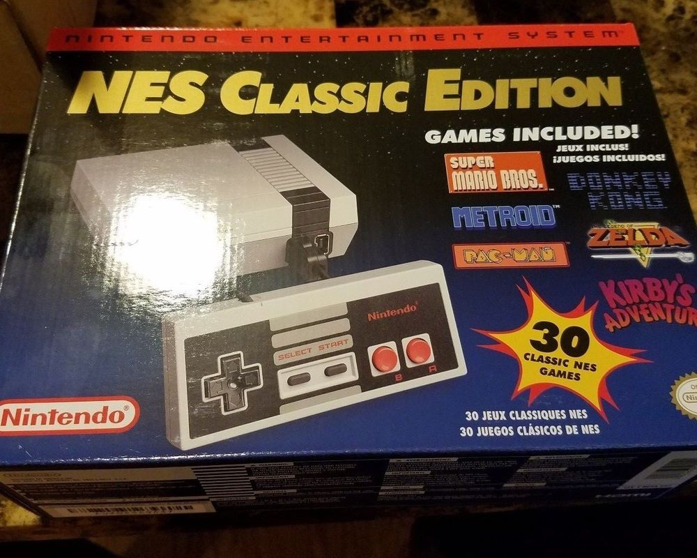 Snes Classic Mini Edition Super Nintendo Entertainment System
