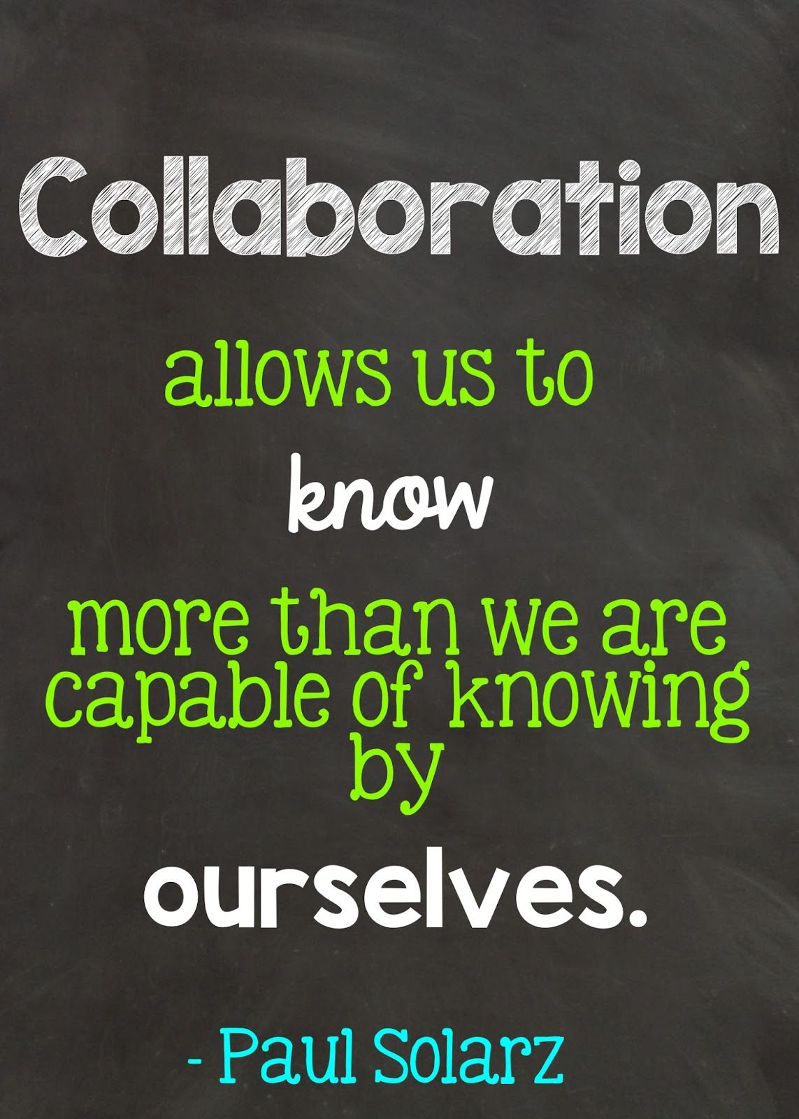 Collaborative Teaching Goals ~ Learn like a pirate peer collaboration school