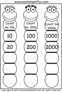 Skip Counting Free Printable Worksheets Worksheetfun Skip Counting Worksheets Counting Worksheets Math Counting
