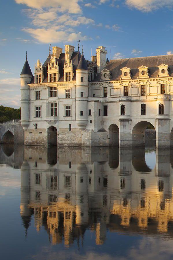 Chateau Chenonceau Photograph by Brian Jannsen