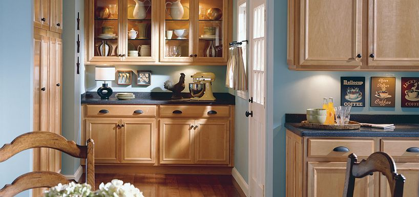 Gibson Maple Wheat By Thomasville Cabinetry Thomasville Kitchen