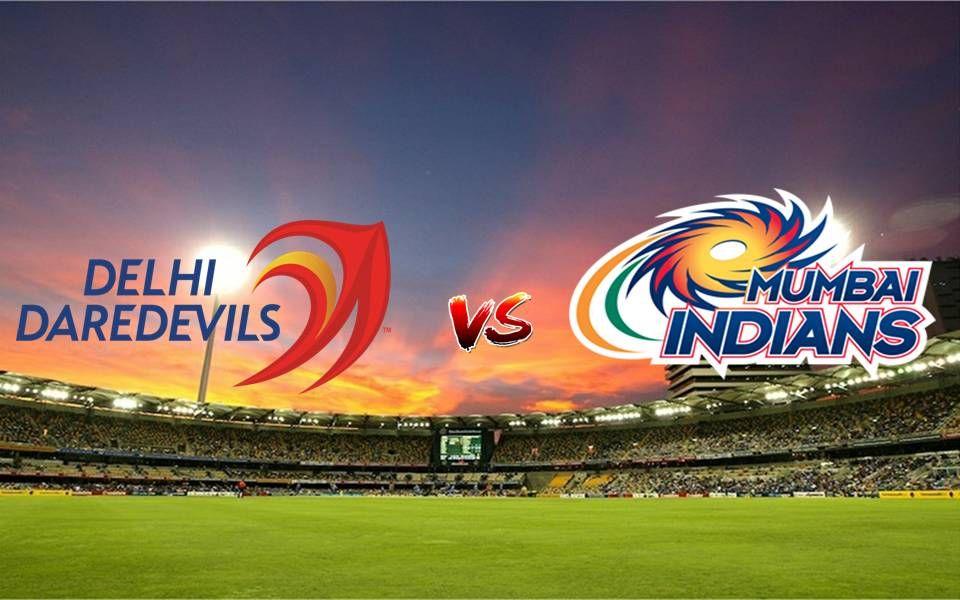 Vivo IPL Match 9 Mumbai Indians vs Delhi Daredevils