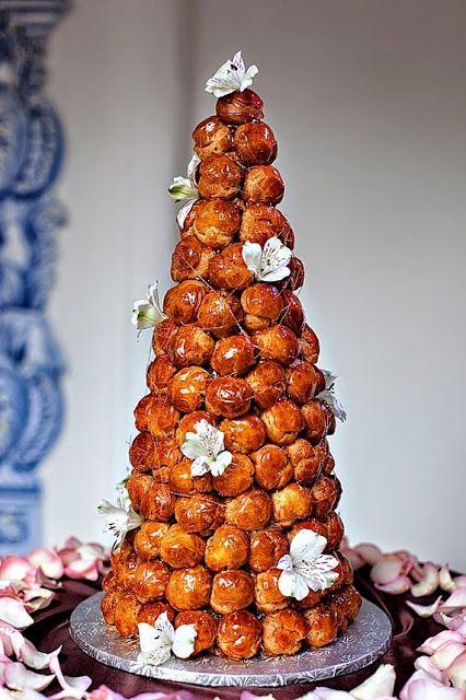 French Desserts Français Croque En Bouche Wedding