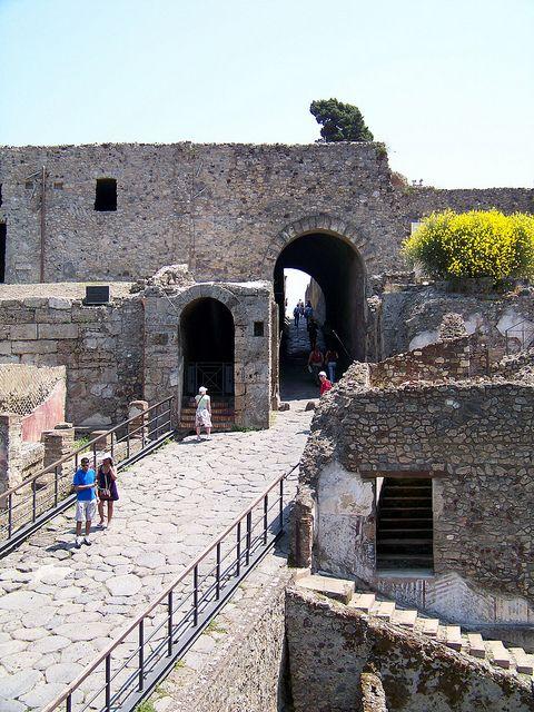Porta Marina - Pompeii