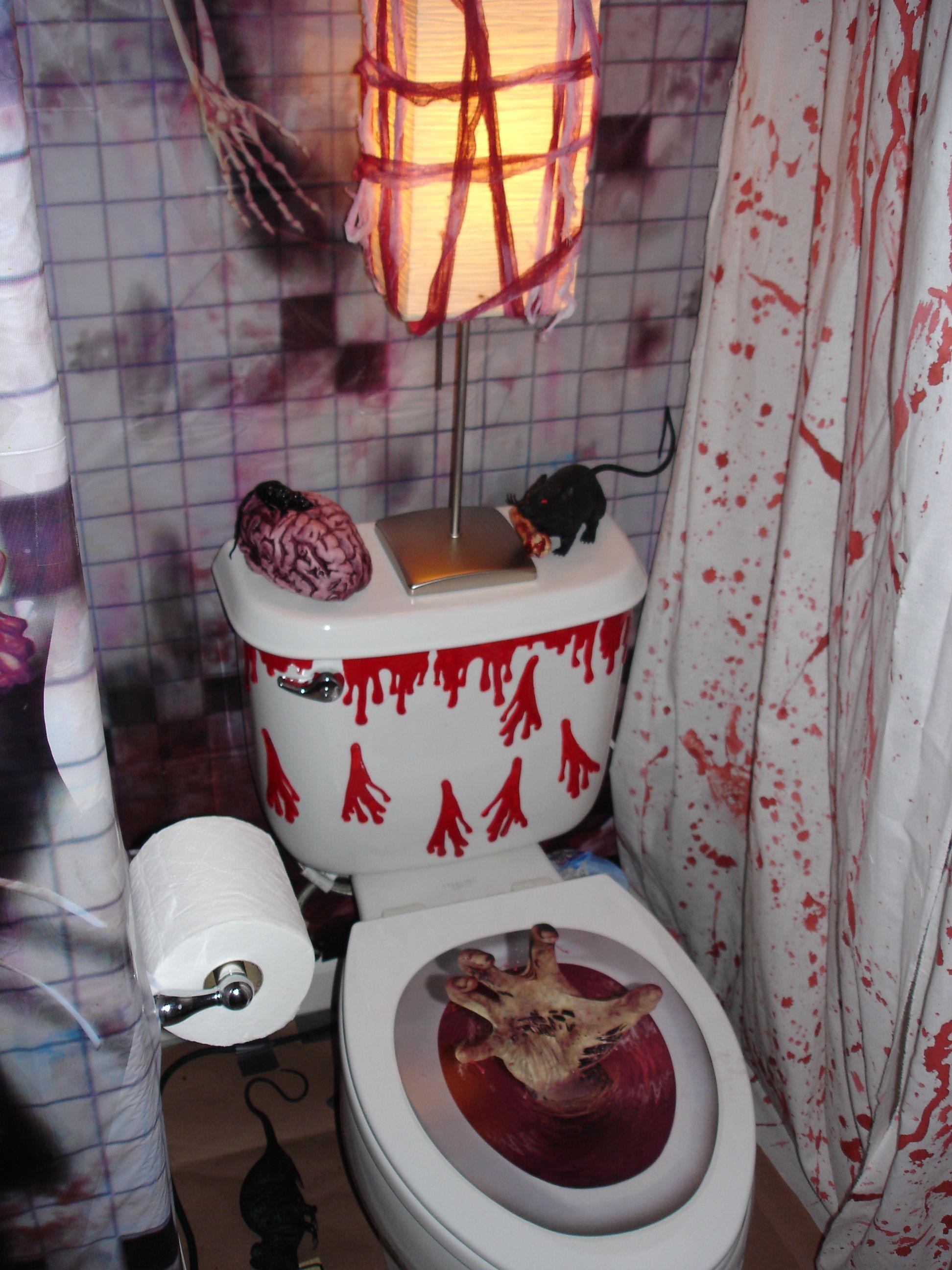 halloween bathroom decorations decorating halloween
