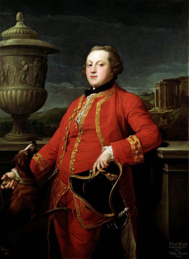 Gods and Foolish Grandeur: Pompeo Batoni - gentlemen in red