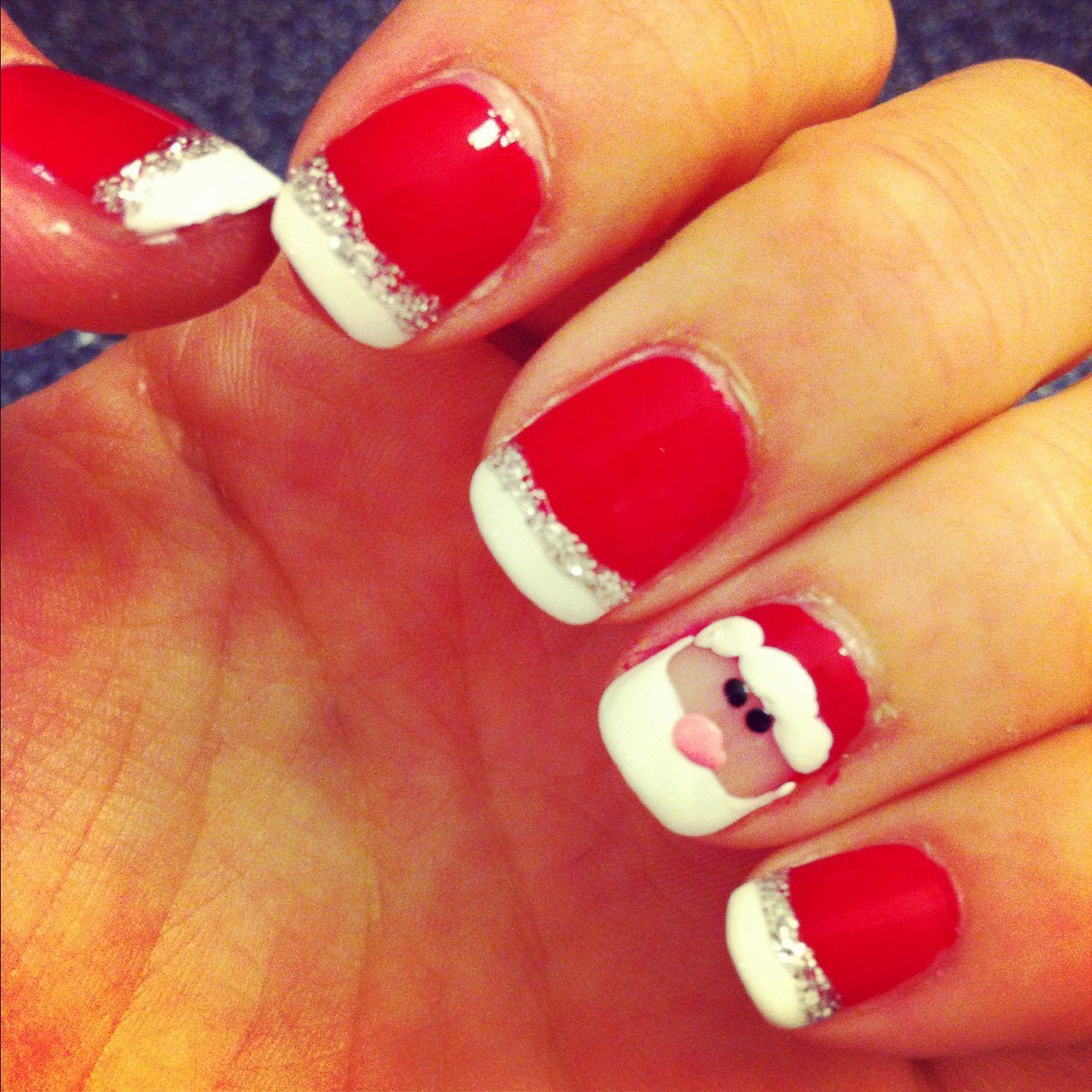 Santa clause nails!