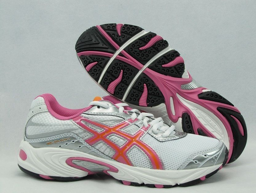 Asics girls shoes Gel Galaxy 4 junior size 6 NEW #ASICS