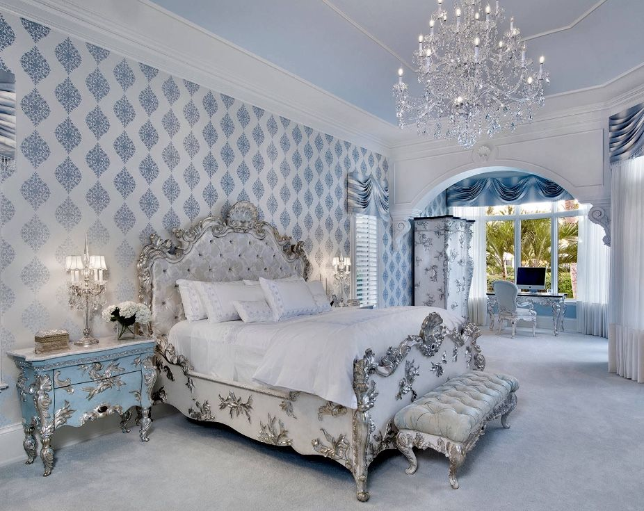 Best Luxury French Bedroom Decor Victorian Style Bedroom Blue 400 x 300