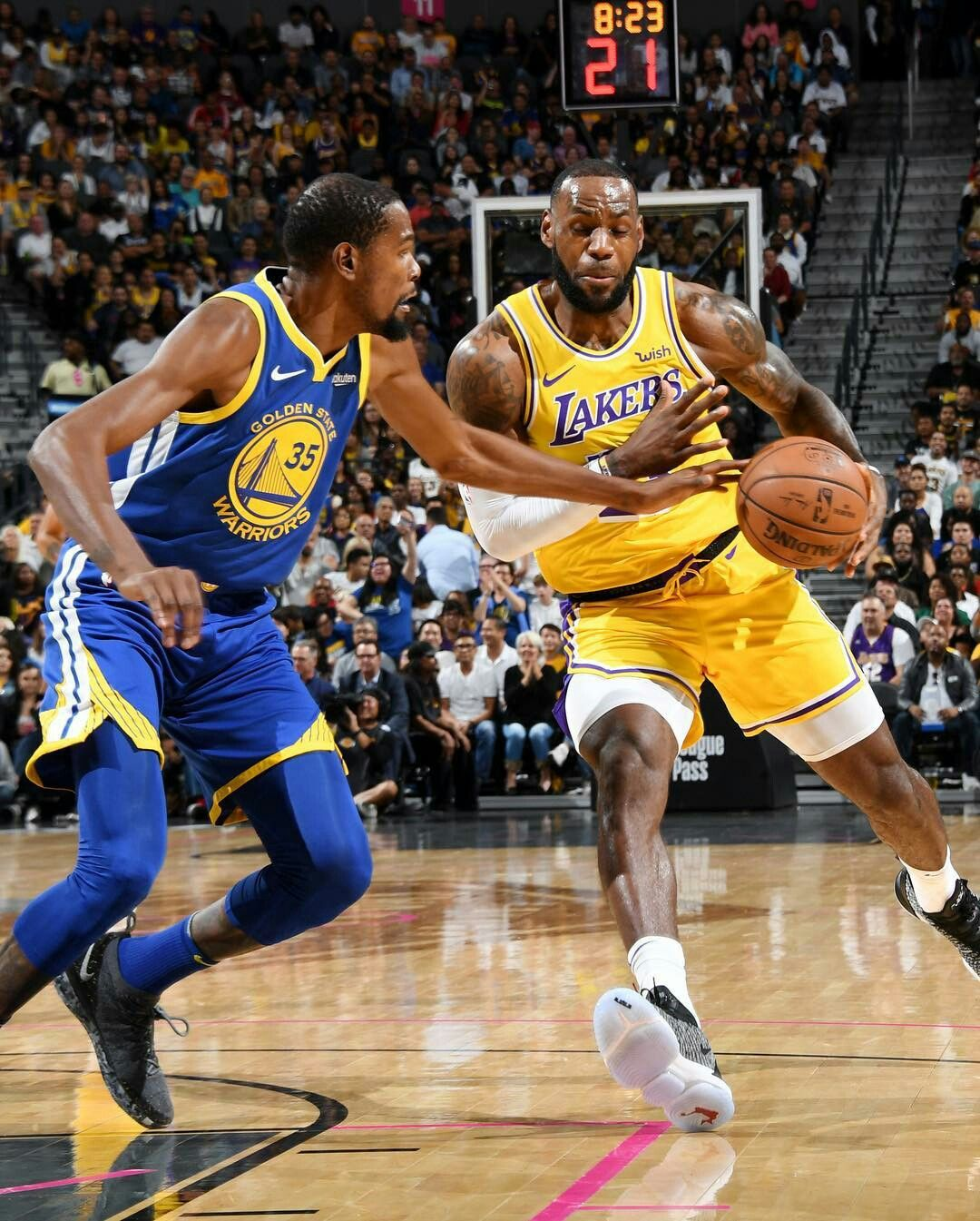 d6c5fd98f14 Kevin Durant - Golden State Warriors and Lebron James