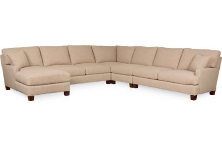 Lee Industries 3973 Series Sectional Series For The Family Room Components Are 3973 23lf Left Facing Corneri Sectional Lee Industries Family Room Sectional