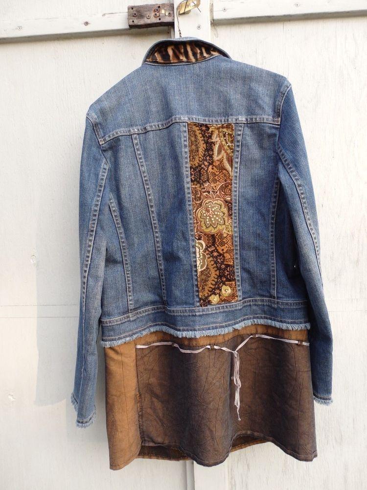 025d60196a Jean Jacket Tunic Dress Women s Jacket Dress Sz 12  Talbot  JeanJacket