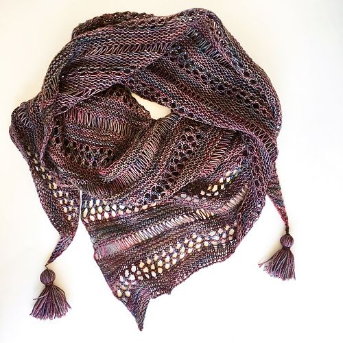 Photo of Stormy Sky Shawl pattern by Life Is Cozy