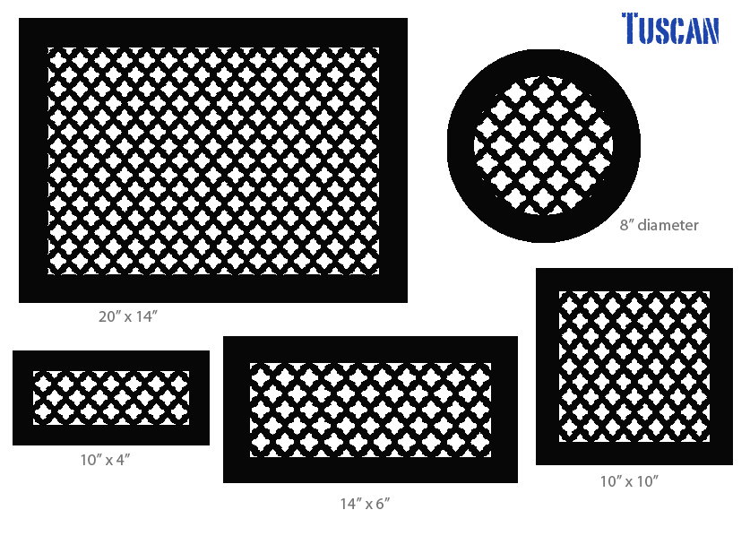 4 X 10 Wall And Ceiling Bronze Series Registers And Returns Vent Covers Unlimited In 2020 Tuscan Design Tuscan Decorating Mediterranean Decor