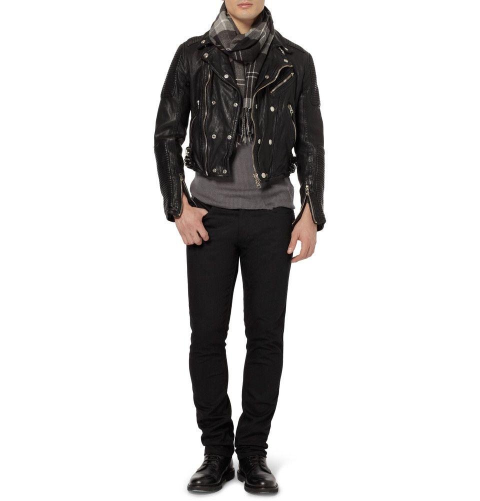 Designer Leather Jackets On Mr Porter Designer Leather Jackets Jackets Mens Designer Fashion [ 1002 x 960 Pixel ]